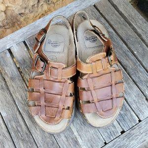 Dr. Martens Fisherman leather sandals sz 10 NWOT